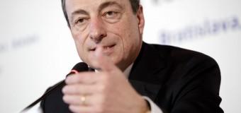 Евро упал после слов Драги