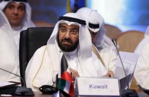 Министр нефти Кувейта Али Аль-Омаир на конференции в Эр-Рияде